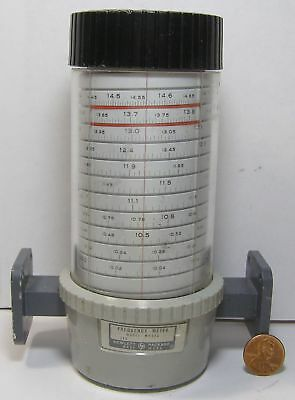 Hp Frequency Meter Model M532a Wr-75 10-15ghz