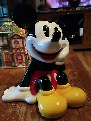 Vintage Walt Disney Mickey Mouse Cookie Jar