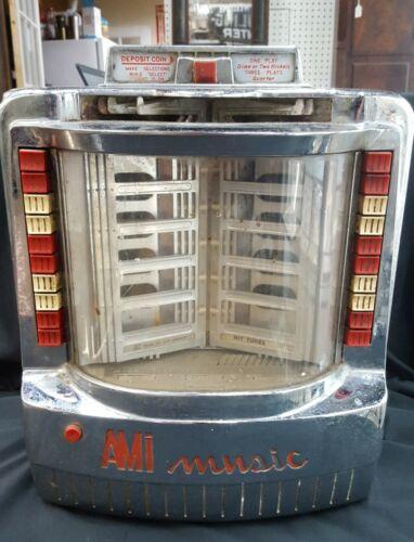 Vintage AMI Model WQ129 Tabletop Juke Box Selector