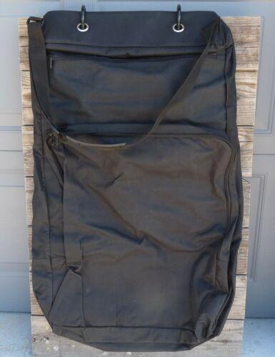 Cordura Zippered Garment Bridle Bag Show BLACK