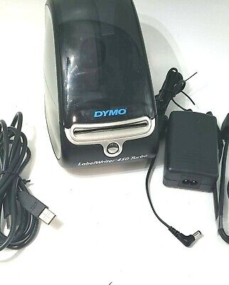 Dymo Labelwriter 450 Turbo Label Thermal Printer -includes Power Cord Usb Cord