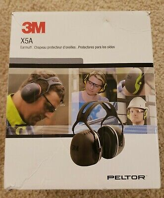 3m Peltor X5a Earmuffs With Ear Cushion And Foam Liners-hearing Protection