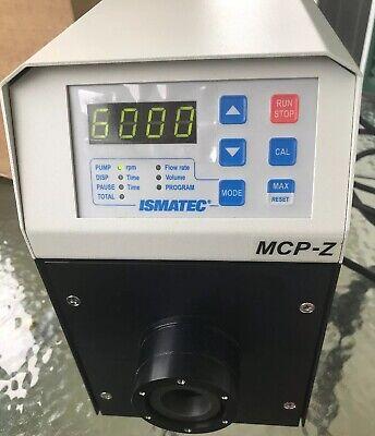 Ismatec Mcp-z Standard Ism405a 115230v Gear Pump Drive For Micropump Heads