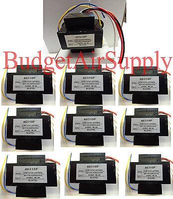 Lot 10 Ea Universal 24 Volt Transformer 120208240 40 Va 60hz 40310f Hvac
