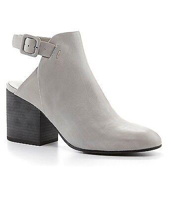 9 5 Eileen Fisher Cloud Platform Bootie Bonus High Heel Leather Shoe New W  Box