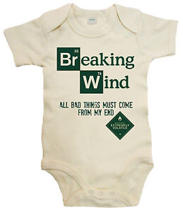 breaking wind bad funny cute bodysuit baby grow baby boy