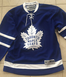 Authentic Toronto maple leaf jersey large