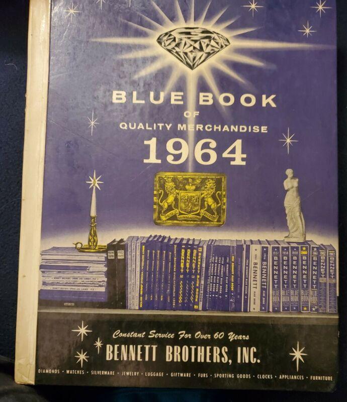BENNETT BROTHERS BLUE BOOK QUALITY MERCHANDISE CATALOG 1964 MID CENTURY MODERN