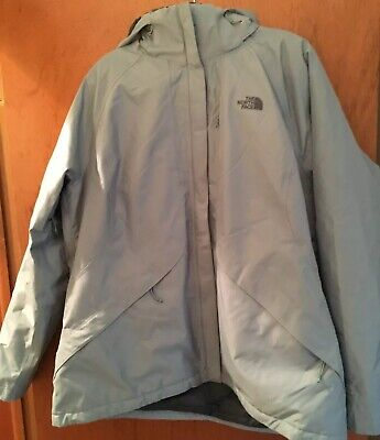 North Face Polyester Blue Woman's Jacket Size XXL