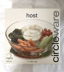 "New in Box - circleware host 11"" Chip & Dip $20 or barter/trade"