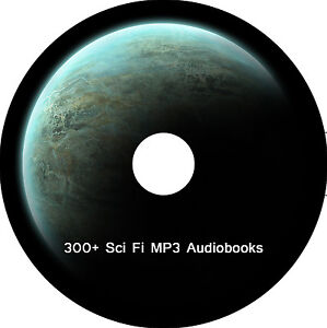 300 SciFi Audio books Stories MP3 CD Story talking DVD disc for Ipad Ipod Kindle