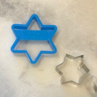 Hanukkah Cookie Cutters (2 Hanukkah six-point star cookie cutters  • Wilton +)