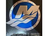 Mercury Racing Stainless Propeller Revolution 4 XP 25p 4BL 8M0113956