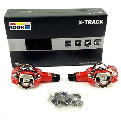 x track mountain bike pedals and cleat