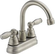 Brushed Nickel Faucet