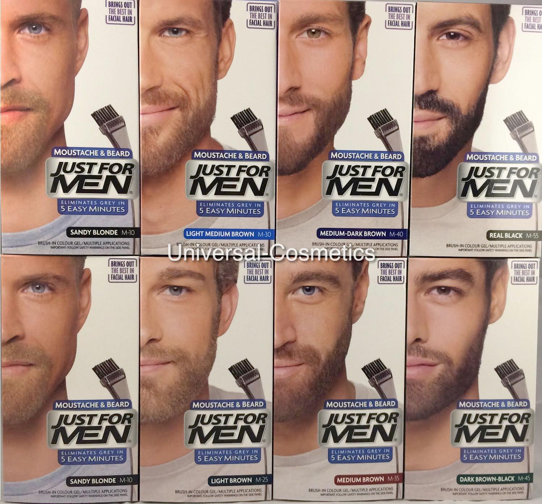 Just For Men Colour Dye Gel Moustache and Beard-GENUINE