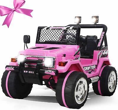 12V Kids Ride On Truck Car w RC,MP3,LED best gift for kids NEW CAR IN 2019