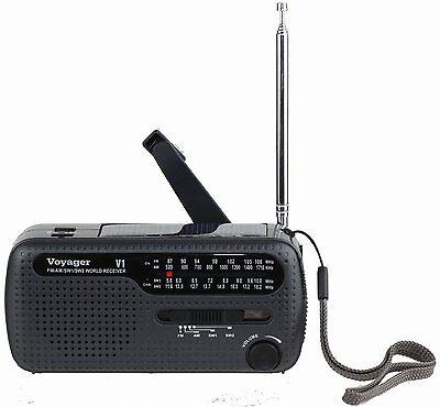 KAITO Voyager V1 Am Fm Shortwave Emergency Radio With Sol...