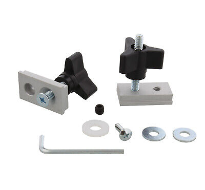 Dct Miter Track Slot Fixture Hardware Kit Table Saw Router Disc Sander Jig