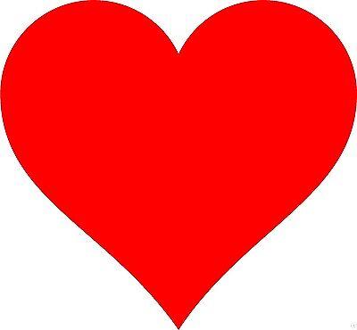 Heart Decal High Quality Oracal Vinyl Window Wall Sticker Decor Art Love Shapes Sticker Art Shapes
