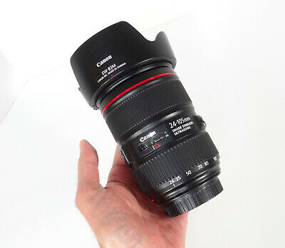 Canon Zoom Lens EF 24-105mm f/4 L IS II USM•MINT COND- WORKS PERFECTLY•FAST SHIP