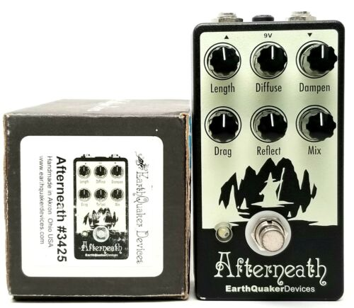 used Earthquaker Devices Afterneath, Excellent Condition with Box!