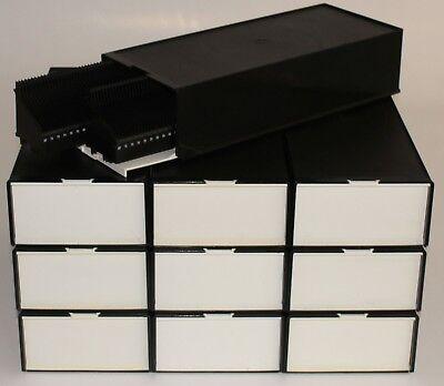 10 Stück LKM-Magazinbox 2x80 + 20 LKM-Magazine Diamagazin Leica Kindermann