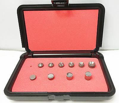 Rivet Squeezer Set 10 Pcs An430 Round Head Squeezer Sets Wflush Sets Case New