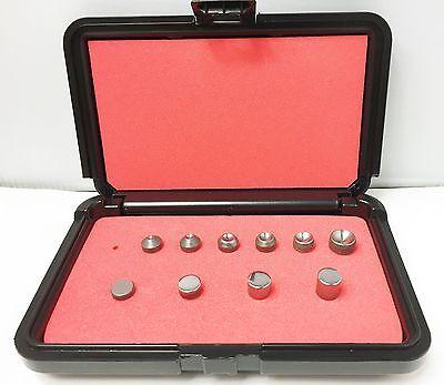 Rivet Squeezer Set 10 Pcs An430 Round Head Squeezer Sets Wflush Sets Case New