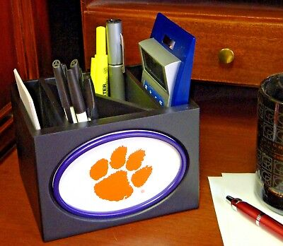 Fan Creations 04506 NCAA Desktop Organizer Clemson Tigers