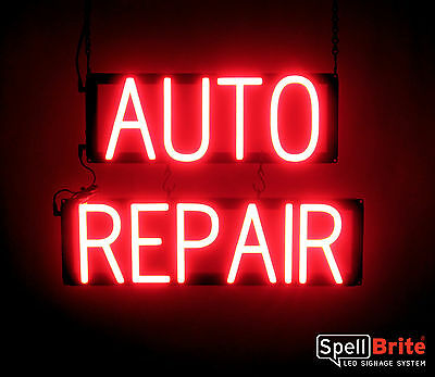 Spellbrite Ultra-bright Auto Repair Sign Neon-led Sign Neon Look Led Power
