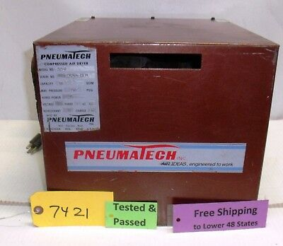 Used Pneumatech Compressed Air Dryer 515 - B Works Commercial Free Shipping