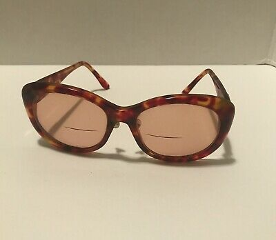 VINTAGE GUCCI TORTOISE PRESCRIPTION EYEGLASSES ~ MADE IN ITALY - NICE!!