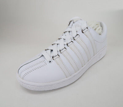 K-SWISS Men Shoes Classic Luxury Edition White Sneakers #2404 ()