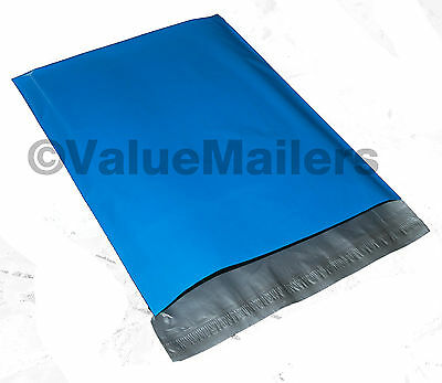 5000 7.5x10.5 Blue Poly Mailers Shipping Envelopes Couture Boutique Quality Bags