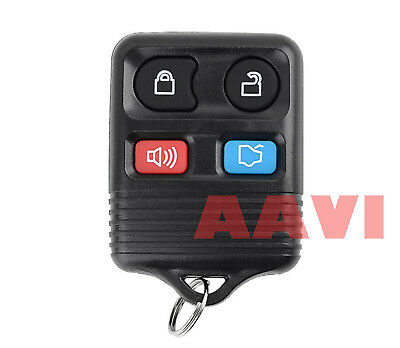 Best Replacement Keyless Entry Remote 4 Button Key Fob For Mercury