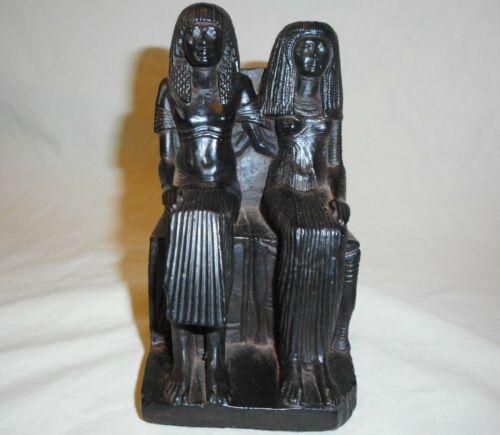 Vintage 1993  Austin Sculpture Egyptian King & Queen Figurine Statue