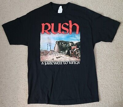 Rush A Farewell to Kings Shirt [Large] EXCELLENT