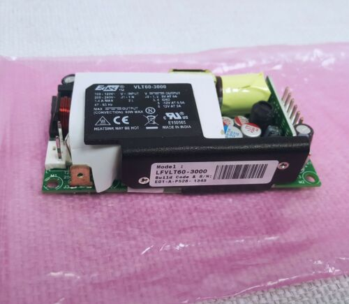 EOS LFVLT60-3000 60W Output 5V8A -12V0.5A 12V3A VLT60-3000 Power Supply