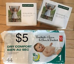 Diapers & Disposable Bibs