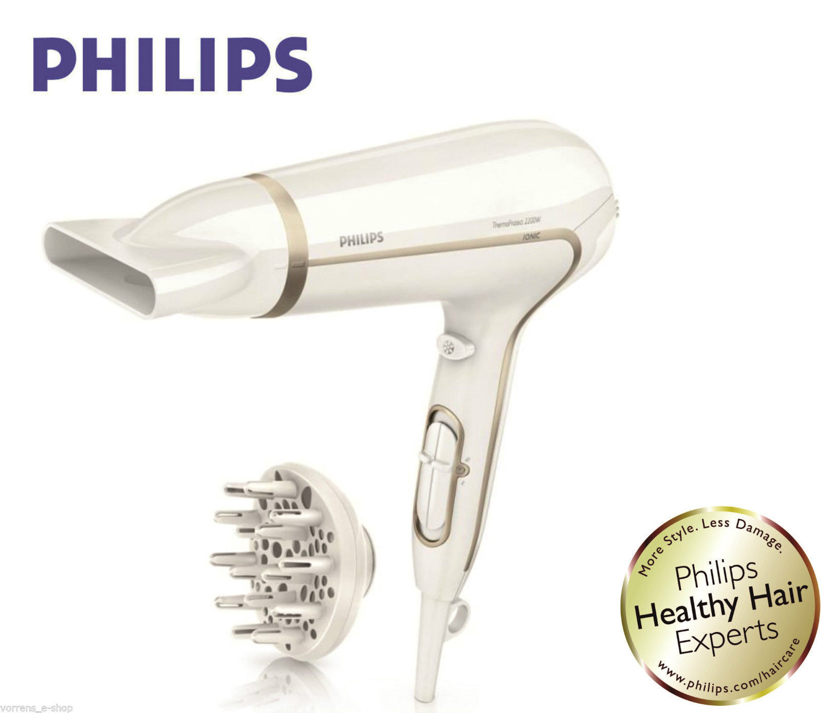 Philips Hair Dryer HP8232/00 Dry Care Advanced Ionic with Vo