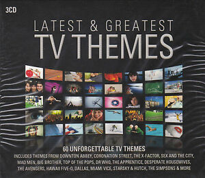 [NEW] 3CD: LATEST & GREATEST TV THEMES