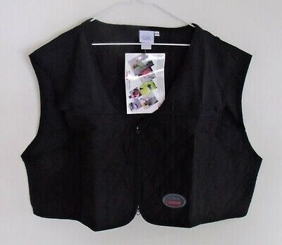 Cool Medics Black Construction Safety Cooling Cropped Short Vest-size 3xl-nwt