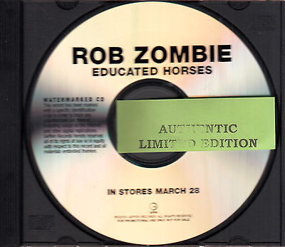 rob zombie  limited edition cd #2 on Rummage