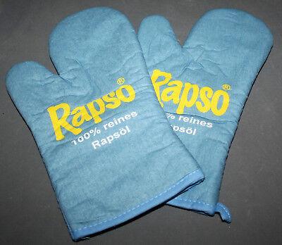 Rapso Rapsöl Küche Topf Handschuhe Handschuh Groß Paar Kochen Backen NEU OVP