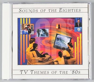 Time Life Sounds Of The Eighties TV Themes Of The 80s CD Out of Print OOP 1996 - Themes Of The 80s