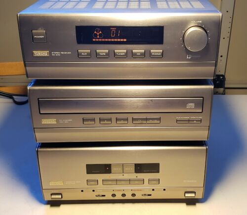 YAMAHA System Mini Component System RX-S70 CDC-S90 KWX-S70
