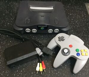 Professionally Cleaned - Like NEW N64
