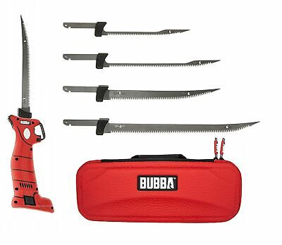 Bubba Lithium Ion Cordless Electric Fillet Knife 4 Blades Li-Ion Fishing 1095705
