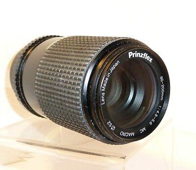 PRINZ 80-200mm PK MOUNT MANUAL FOCUS LENS for PENTAX FILM & DIGITAL SLRs (578)